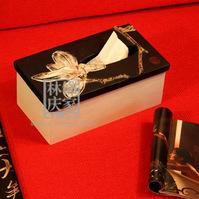 Q314-73.38Novelty Rectangular Yulan magnolia Tissue Box