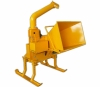 Wood Chipper with Swivel Chute