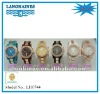 newest fashion crystal japan quartz water resistant acrylic watch LH0744