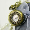 antique fashion style pocket watch use Japan movement chinese pocket watch movement