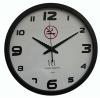 "15"" smoke detector alarm clock with radio control movement"