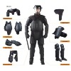 Anti-riot suit with Anti-flaming and Waterproof, Nanometer Technology, OEM Orders are Welcome