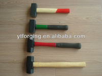 American Type Sledge Hammer with Hicory Wooden handle,