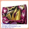 NEWEST Purple Floral Traveling Cosmetic Pouch