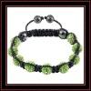 shamballa crystal pave bead bracelet, shamballa bracelet with crystal ball, cheap shamballa bead bracelet