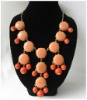 Fashion Crew Style Bubble Bib Necklace 2012