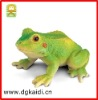 plastic realistic jumping green frog crazy toy for children
