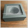beautiful pretty two piece gift box with transparent PVC window