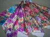 fashion floral design sublimation transfer printed paper ,chiffon,satin fabrics