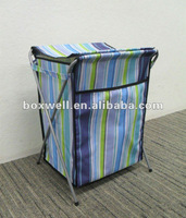 sturdy steel frame Laundry basket