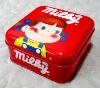 high-quality candy square tin box