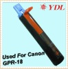 GPR-18 printer black toner powder