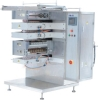 Multi-lines four sealing packaging machine