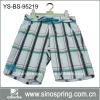 Men fashion beach short with 100% polyester