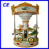 childrten's game machine happy small carousel for sale