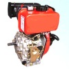 model YM186FE, Air cooled single cylinder 4 stroke diesel generating usage electric start 10hps small diesel engines