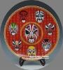 China Classical Mask Porcelain Decor Plates