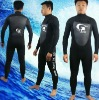 Neoprene surfing wetsuit and diving wetsuit