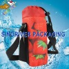 recyclable wine bottle gel cooler bags shoulder cooler bottle bag