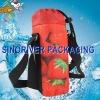 recyclable wine bottle gel cooler bags shoulder cooler bottle bag