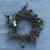 Handmade Artificial Plastic Christmas Flower Wreath