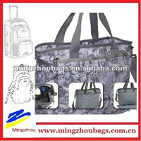 Quanzhou Mingzhoubags Wholesale Baby Bag Pink Diaper Bags