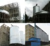 steel silo for storing corn and wheat