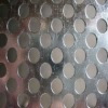 round square decorative hole perforated metal mesh screen plate