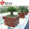 Outdoor flowerpot /garden flower pot,wooden flower pot