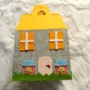 felt house toy for kids party decorations