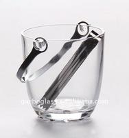 Classic Simple Designed Glass Beer Bucket