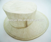 fashion spring handemade sinamay hats