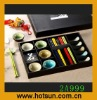5 sets of chopsticks and dishes porcelain dinnerware 2A999
