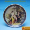 2012 classic porcelain decorative craft plate and dish