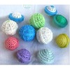 7cm DIA functional nylon washing ball(any color)