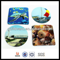 Cheapest 3D souvenir cup coaster of sea animal design