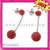 unique design shamballa earrings jewelry for women