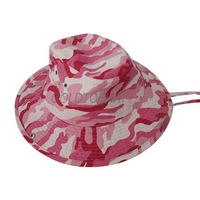 2012 bucket hat / woodland camo style