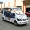 6 seats electric city bus