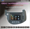 Special HONDA NEW FIT 2009-2011 CAR DVD PLAYER