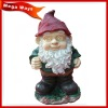 cute Chrismas santa figurine for garden decoration