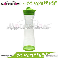 1000ml Transparent Glass Water Bottle