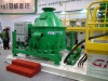 Offshore cutting dryer