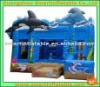 dolphin inflatable combo / 3 to 1 iinflatable combo