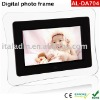 AL-DA704 Digital photo frame with LCD display