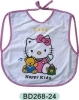 100% cotton printing baby bibs