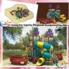 2012 plastic playground amusement park playground