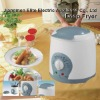 1L electric plastic deep fryer with fondue forks