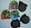 Paper fridge magnet,magnetic photo frame,cartoon,animals, fruits