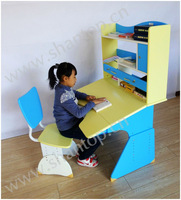Height Adjustable Children Study Table And Chair